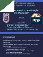 Sx Anemico Multifactorial