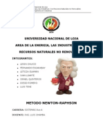Método Newton-Raphson