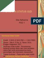 PSG 1 Permasalahan Gizi