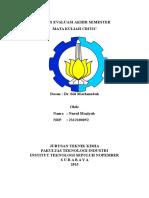 Summary Materi Teknologi Superkritis
