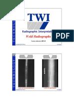 123803616 Weld Radiographs