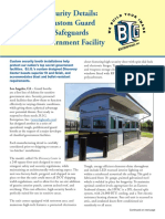 New B.I.G. Custom Guard Booth Model Safeguards Sensitive Government Facility