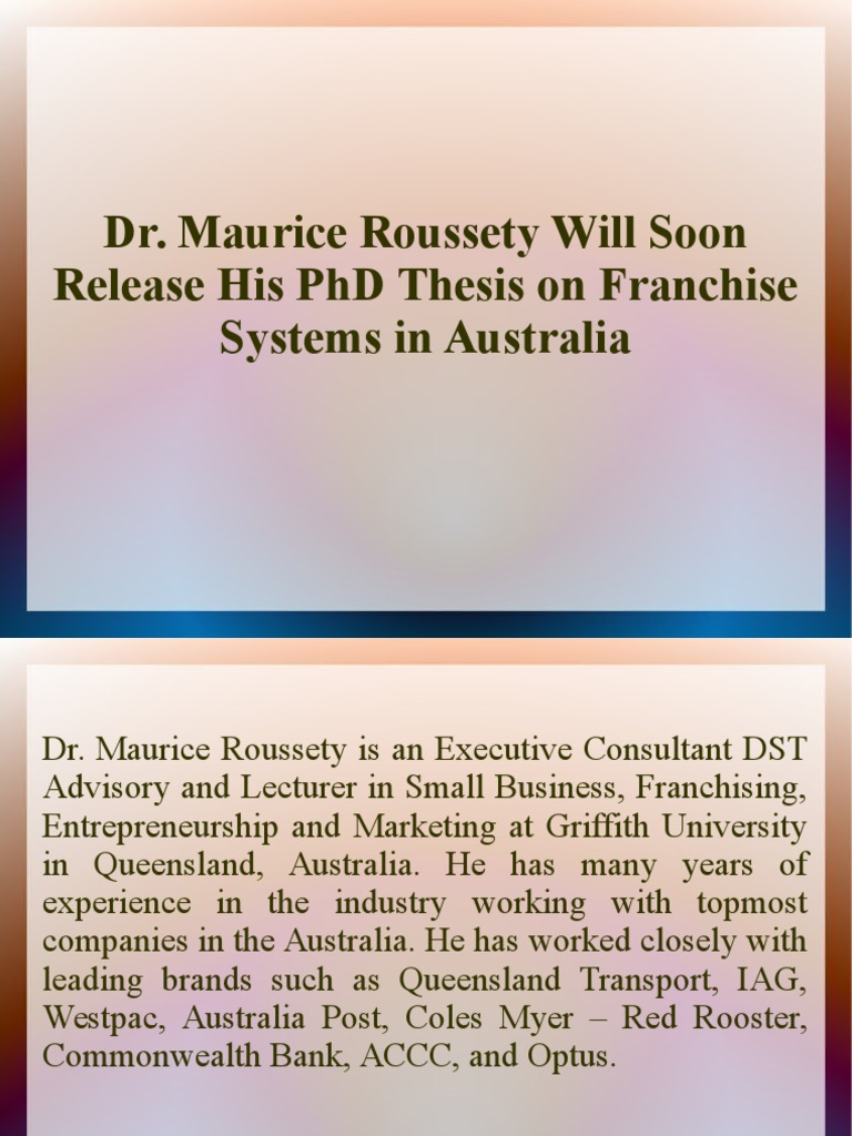 Australian phd thesis database
