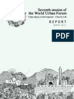 World Urban Forum 7 Report - March 2015