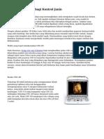 Teknologi USG 4D bagi Kontrol Janin