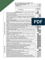 Informe Del Progreso Del Niño- 2015