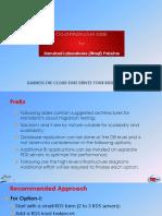Cloud Infrastructure Options