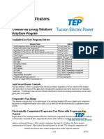 Tep Small Business Equip Specs 81209