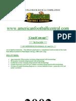 2002 Philidelphia Eagle Mini Camp Offense