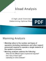 Workload Analysis