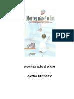 Admir Serrano - Morrer Nao e o Fim