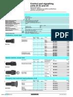 Schneider Push Buttons and Pilot Lights