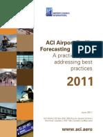 ACI Airport Traffic Forecasting Manual 2011