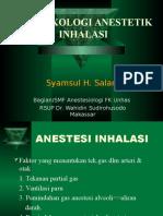 Farmakologi Obat Anestesi Inhalasi