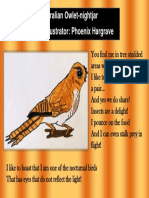 Australian Owlet Nightjar Phoenix