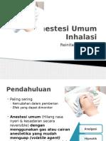 Anestesi Umum Inhalasi