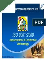 ISO 9001 Implementation Methodology