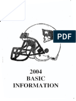 2004 New England Patriots Offense - 135 pages