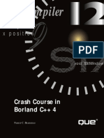 Crash Course in C++ Borland C++ 4