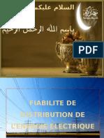 Fiabilite de Distribution de l'Energie Electrique