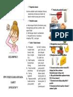Leafet Nutrisi Bagi Penderita Anemia