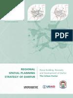 Regional Spatial Planning Strategy of Darfur