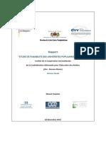 Université Populaire Maroc Etude de Faisabilité