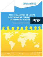 The Challenge of Local Government Financing in Developing Countries