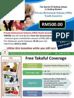 PRS RM500 & Free Insurans Nov 2015