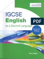 writing/ vocabulary A Digger Igcse English
