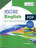 writing/ vocabulary A Digger Igcse English