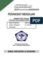 RPP SEJARAH 2009