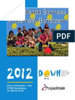 2012 Down Araba Egutegia