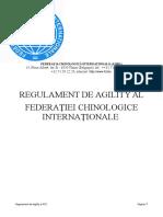 Regulament de Agility FCI