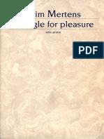 Wim Mertens-Struggle for Pleasure