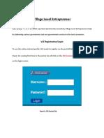 Vle Registration Process