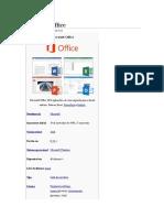 Microsoft Office História in Wikpédia