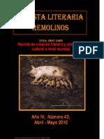 Revista Literaria Remolinos 43