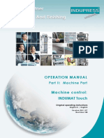 04 Operation Manual Part 2 Machine Part INDUMAT Touch v005