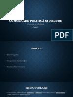Curs 2. Comuniare Politica