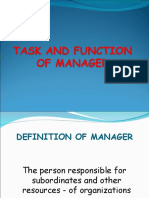 20151013_TASKANDFUNCTIONOFMANAGER