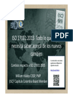ISO 27001-2013 ISC2 Colombia Chapter