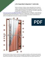 Patentan Cerradura De Seguridad Adaptada Y Antirrobo