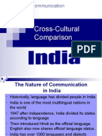 INDIA Cross Cultural Intercultural Communicaton