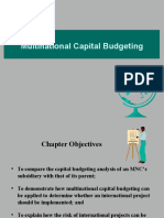 Chapter - 14 (Multinational Capital Budgeting)