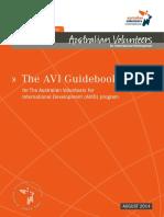 Avi Volunteer Guidebook