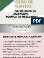 Diseño de Sistemas de Agitación y Mezcla