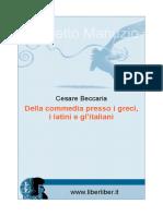 Beccaria Della Commedia