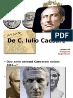 De C. Iulio Caesare.ppt