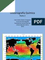 III.1 Oceanografía Química